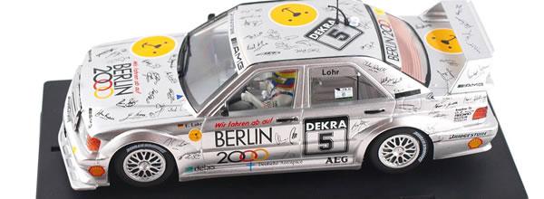 Slot.it: la Mercedes 190E DTM Hockenheim 1992, Ellen Lohr – SICA44c