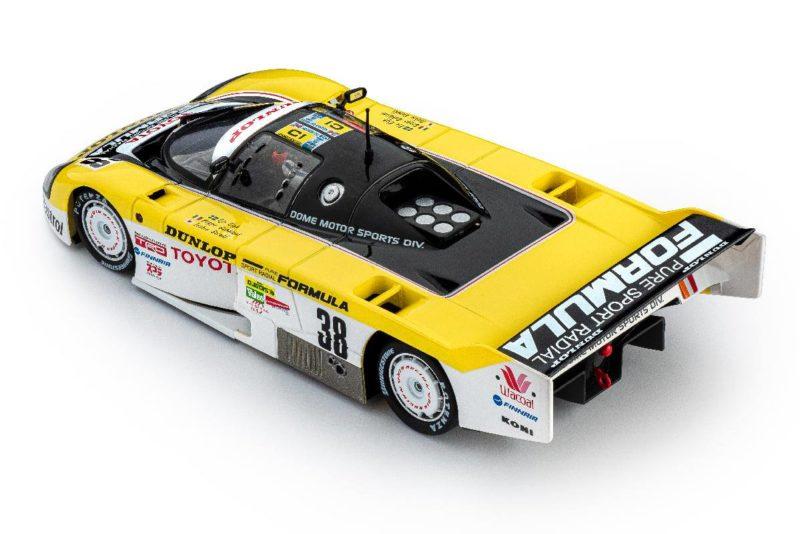 Toyota 86C #38 Dunlop 24h. Le Mans 1989 - SI-CA41C