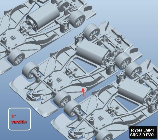 SRC: La Toyota TS050 bientôt en test