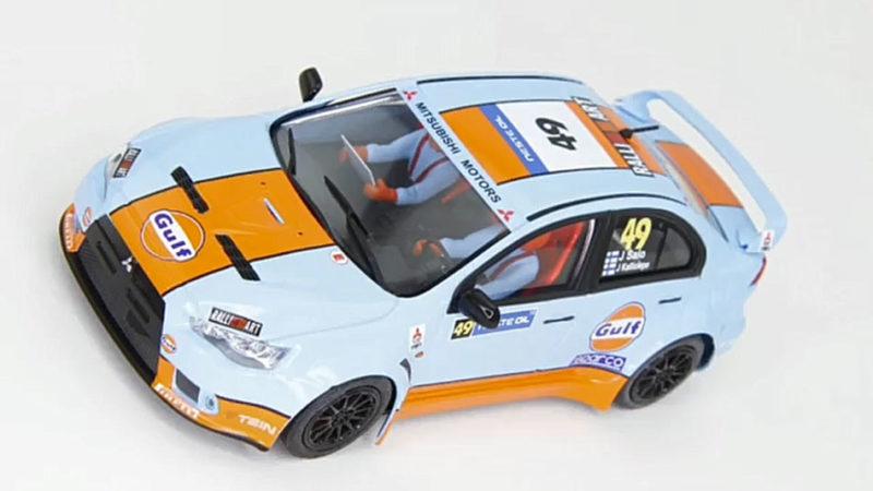 50806 Avant Slot - Mitsubishi Evo X – Gulf