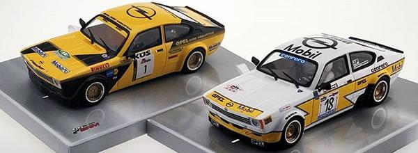 BRM  les deux Opel Kadett GTE arrivent sur les circuits