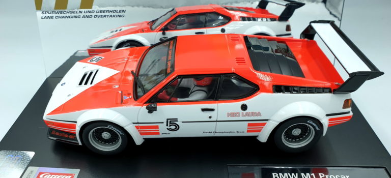 Carrera Slot: la BMW M1 Procar de Niki Lauda Hockenheim 1979