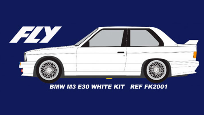 FLY FK2001 BMW M3 E30 Kit Blanc
