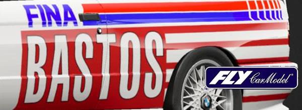 Fly Car Model: les deux BMW M3 E30 Bastos – 24h SPA 92