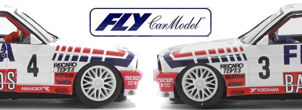 Fly Car Model les photos des deux BMW M3 E30 Fina Bastos