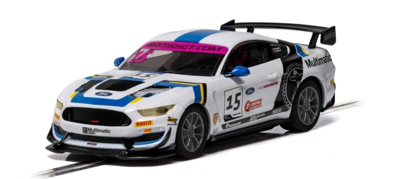 Scalextric: Ford Mustang GT4 – British GT 2019 – Multimatic Motorsports – C4173