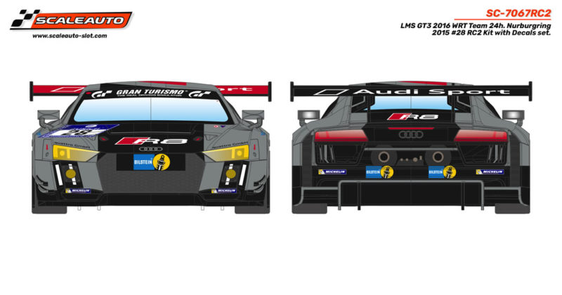 LMS GT3 2016 WRT Team 24h. Nurburgring 2015 # 28 en kit RC2