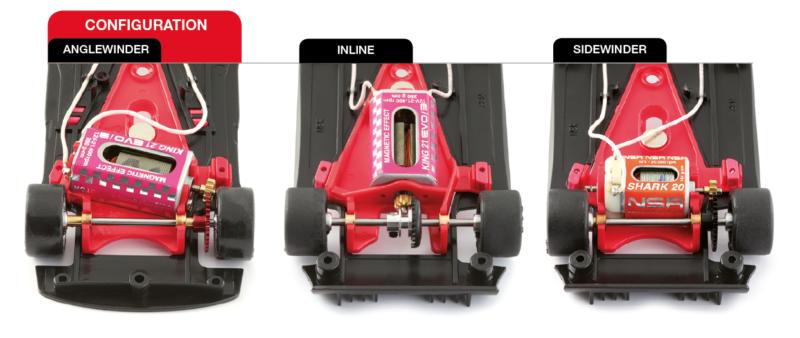 configurations moteur des Mosler MT900 R de NSR