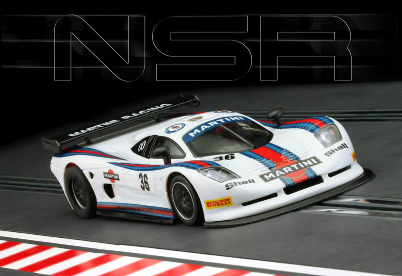 Mosler MT 900 R - Martini Racing blanche