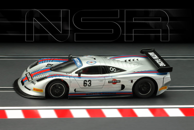 Mosler MT 900 R - Martini Racing grise