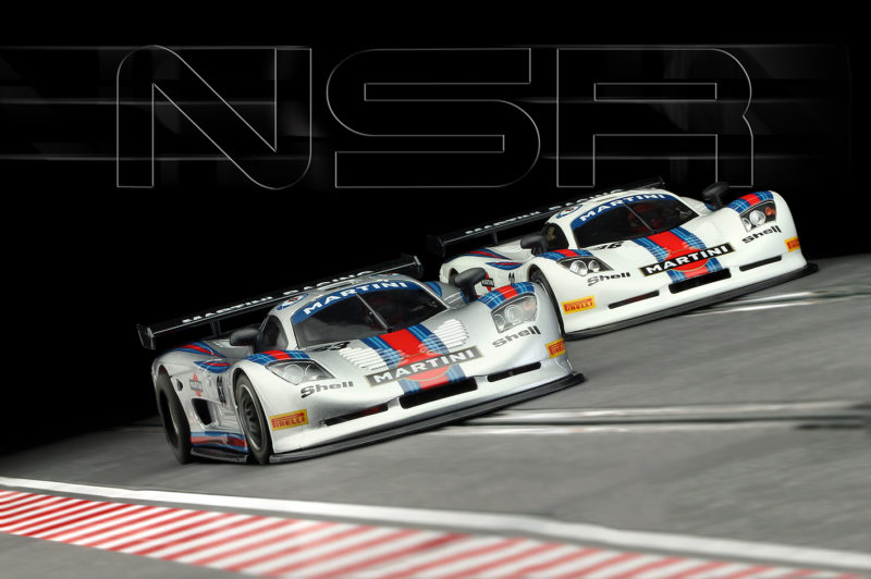 Mosler MT 900 R - Martini Racing grise et blanche