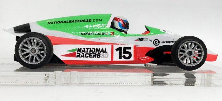National Racers 3d: la NR3D Formula F en impression 3D