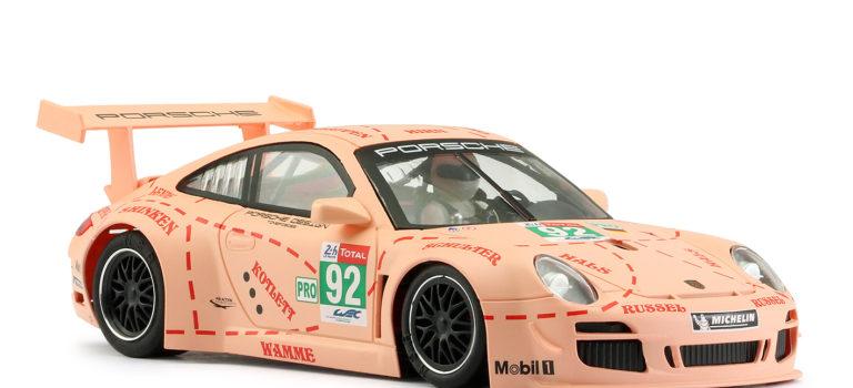 """NSR Slot: La Porsche 24h Le Mans 2018 – #92 """"Pink Pig Design""""."""