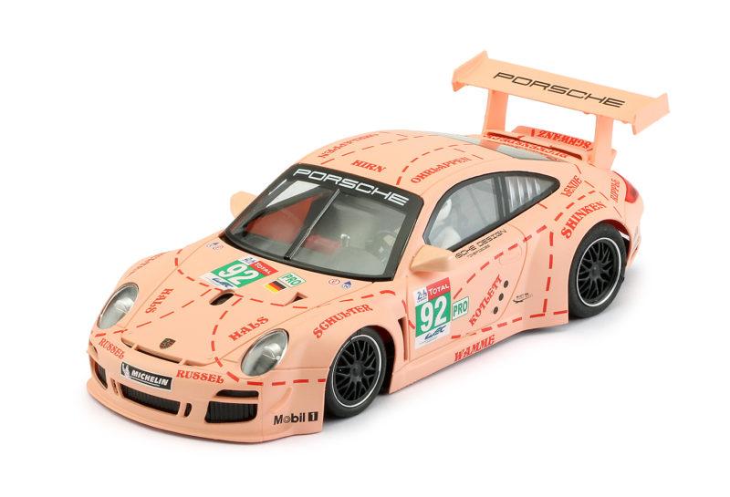 Porsche 997 winner PRO 24h Le Mans 2018 - #92 Pink Pig Design
