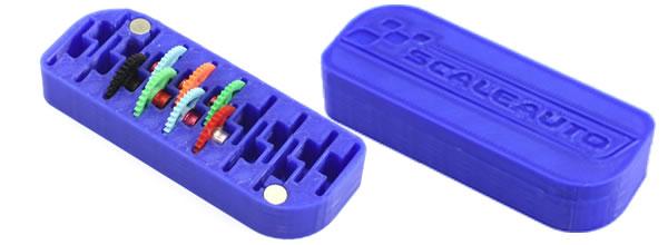 Scaleauto: Des boites 3DP pour ranger les couronnes