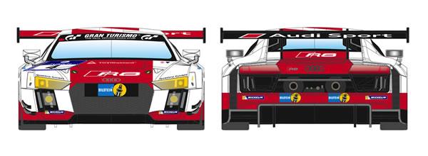 Scaleauto: Trois Audi LMS GT3 à l'échelle 1/24 en kit à monter