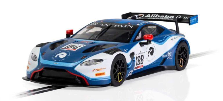 Scalextric: l'Aston Martin Vantage GT3 – Garage 59 – 2019