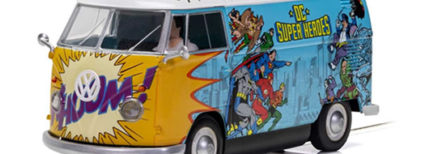 Scalextric le combi VW Van T1b - DC Comics