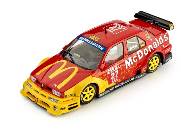 Slot.it l'Alfa Roméo 155 V6Ti #27-Helsinki ITC 1995 – McDonald's