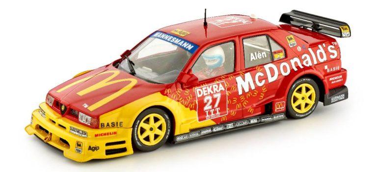 Slot.it: l'Alfa Roméo 155 V6Ti #27-Helsinki ITC 1995 – McDonald's