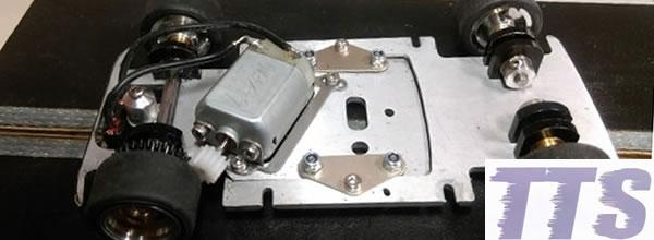TTS Le châssis de  l'Autobianchi A112 Abarth