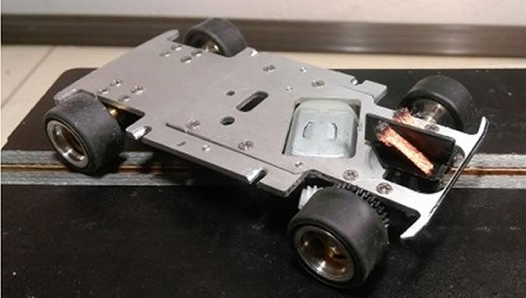 TTS Le chassis de  l'Autobianchi A112 Abarth
