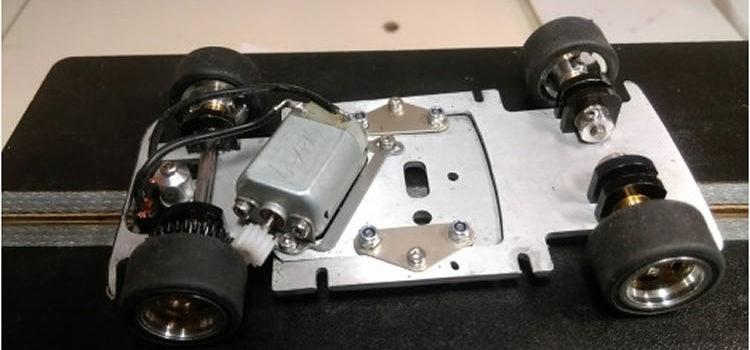 TTS: Le châssis de  l'Autobianchi A112 Abarth