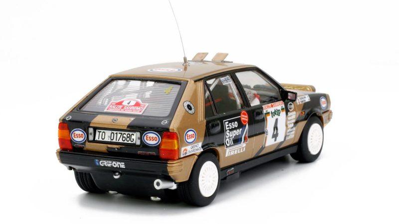 Team Slot La Lancia Delta HF 4 WD Rallye San Remo 1987 #4