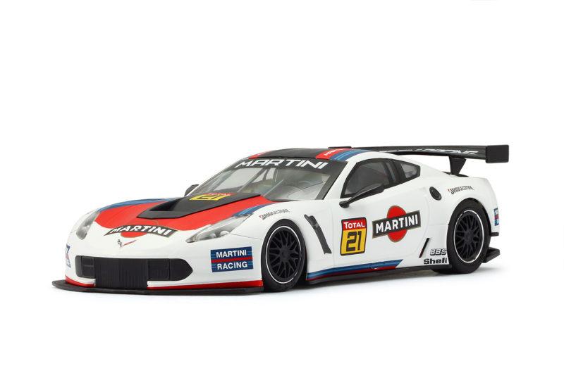 Corvette C7R - Martini Racing #21 - White