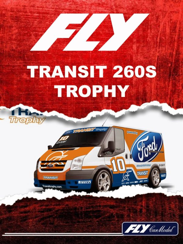 Fly Car Model Un ford Transit pour le slot