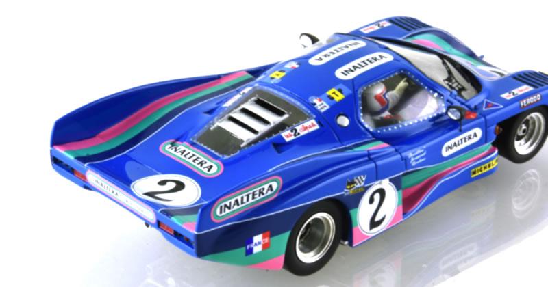 Inaltera #2 24 Heures du Mans 1976. Jean Rondeau & Jean-Pierre Jaussaud