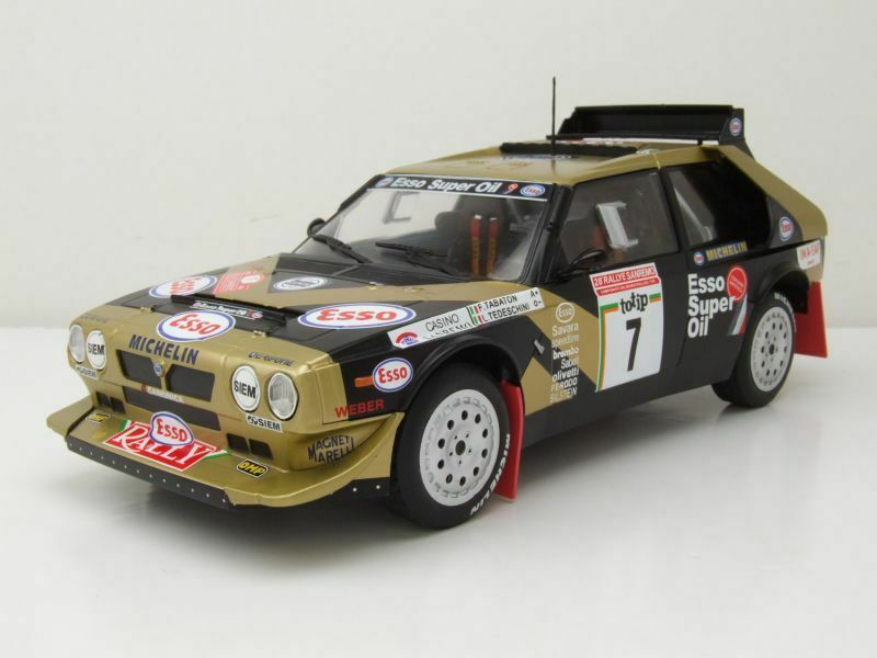 Lancia Delta S4 - Rally Prince des Asturies '86 - illustration
