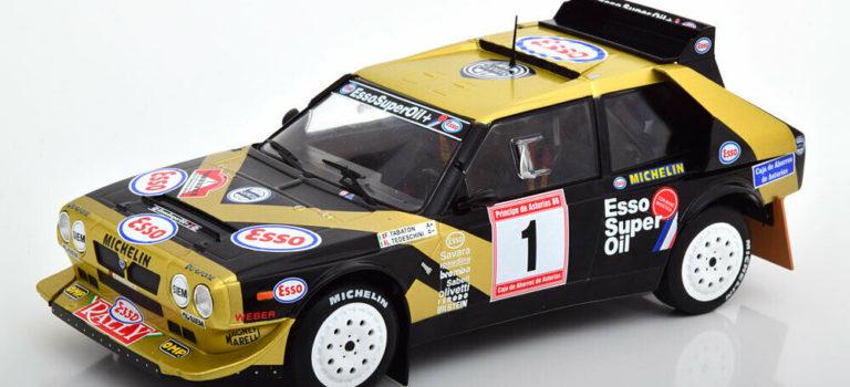 SRC: les prochaines livrées de la Lancia Delta S4