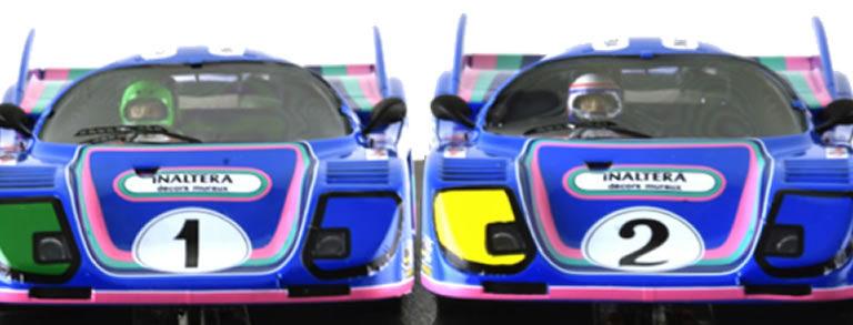 Le Mans miniatures: les deux Inaltera GT Le Mans 76 en approche