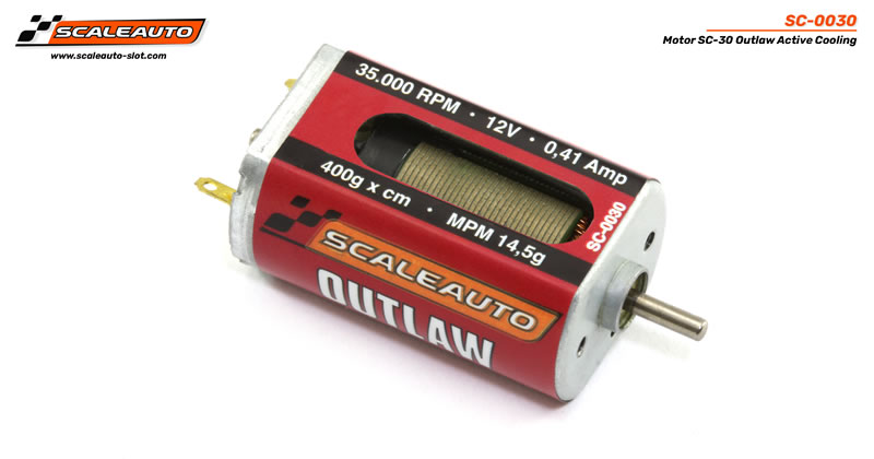 Motor SC-30 Outlaw Active Cooling System 35000 rpm