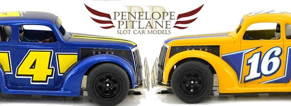 Pénelope Pitlane: des Kits de Chevy 1937 pour le slot