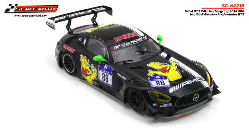 RÉF . SC-6221R MB-A GT3 24H. Nurburgring 2016 # 88 Haribo R-Version Anglewinder RT3