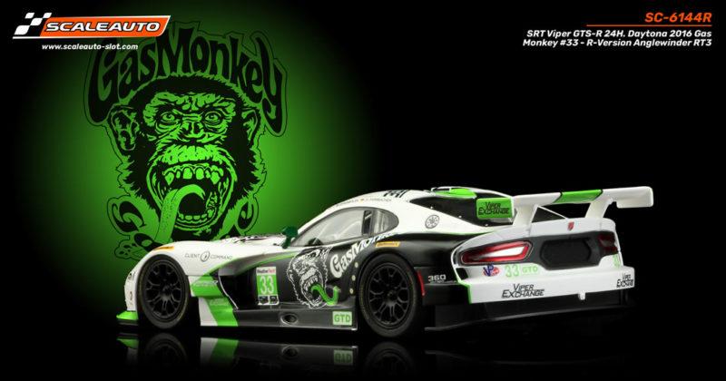 SRT Viper GTS-R 24H. Daytona 2016 Gas Monkey #33