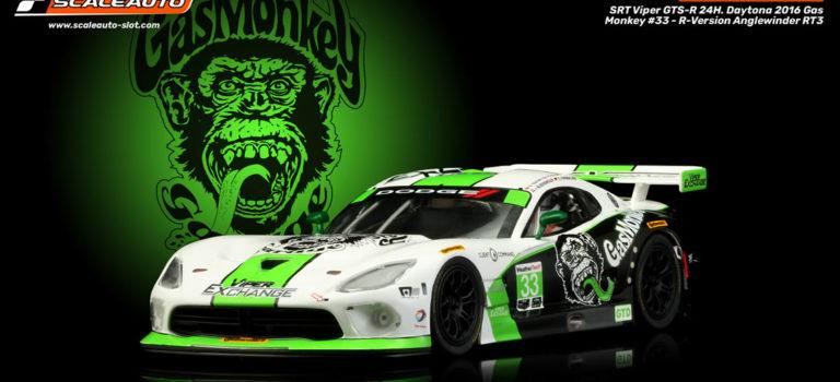 Scaleauto: La Viper Gaz Monkey et la Texas 93 du Team Riley – 24h Daytona 2016