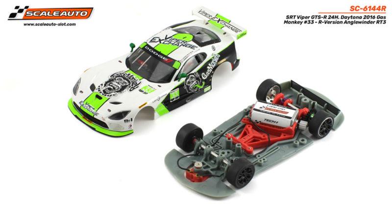 SRT Viper GTS-R 24H. Daytona 2016 Gas Monkey #33 - R-version