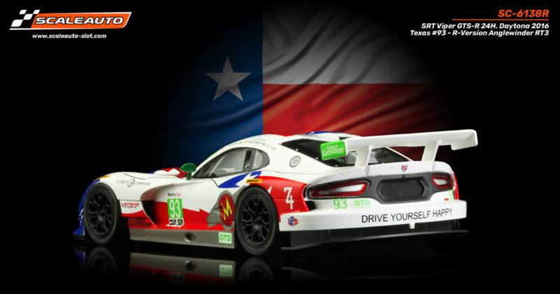 SRT Viper GTS-R 24H. Daytona 2016 Texas #93