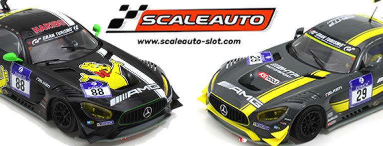 Scaleauto: Deux Mercedes AMG GT3 et le kit de la Viper GTS