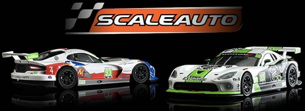 Scaleauto Les deux  Viper GT3-R du Team Riley Motorsports - 24h Daytona 2016