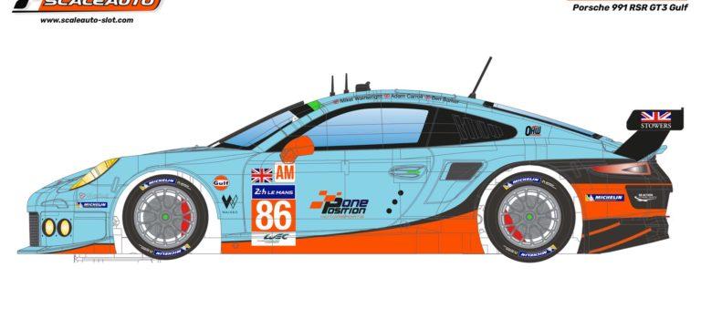 Scaleauto: la Porsche 911 GT RSR – Gulf Racing – 24h le Mans 2016