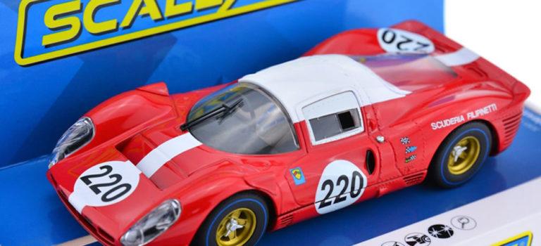 """Scalextric: la Ferrari 412P """"Targa Florio 1967"""" #220 – C4163"""