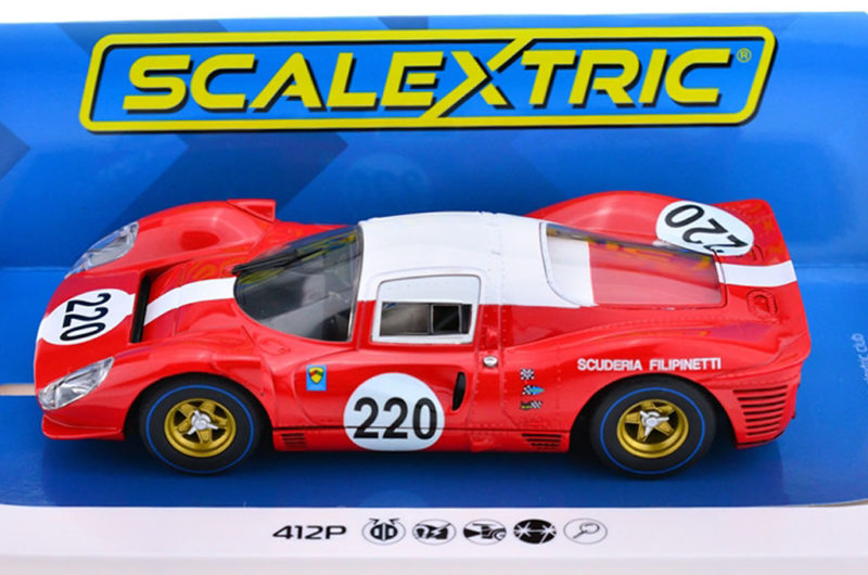 Scalextric la Ferrari 412P Targa Florio 1967 #220 - C4163
