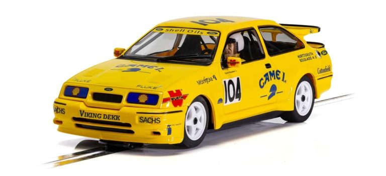 Scalextric: la Ford Sierra RS500 – 'Came 1st' ref C4155.
