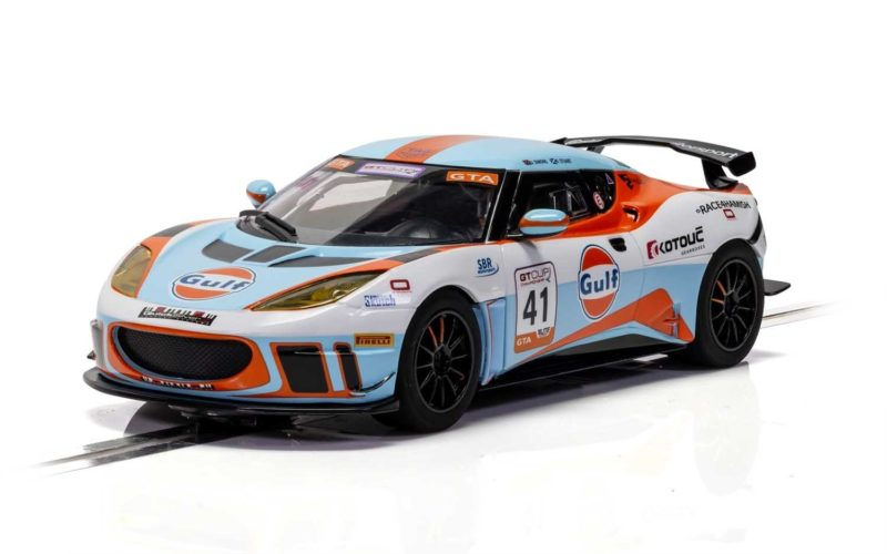 Scalextric  la Lotus Evora – Gulf Edition - C4183
