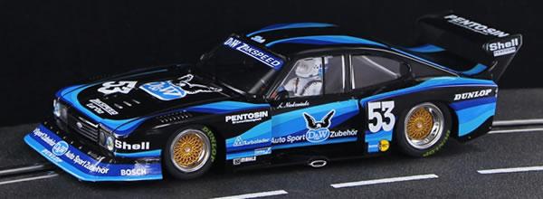 Sideways la Ford Capri Zakspeed Gr.5 Championnat DRM 1980