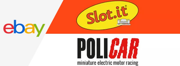 Slot.it et Policar sur ebay